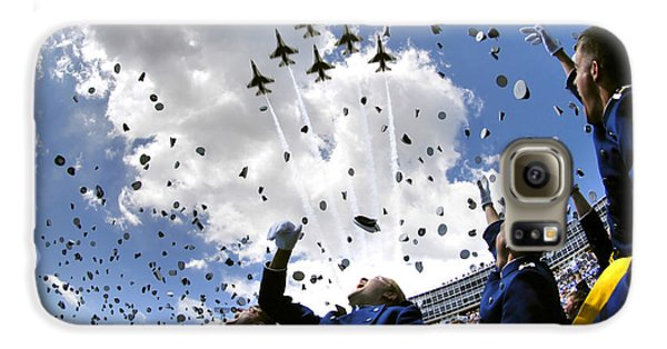 U.s. Air Force Academy Graduates Throw Galaxy S6 Case by Stocktrek Images