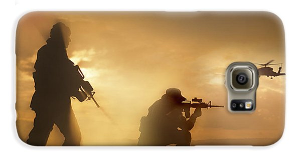 U.s. Special Forces Provide Security Galaxy S6 Case by Tom Weber