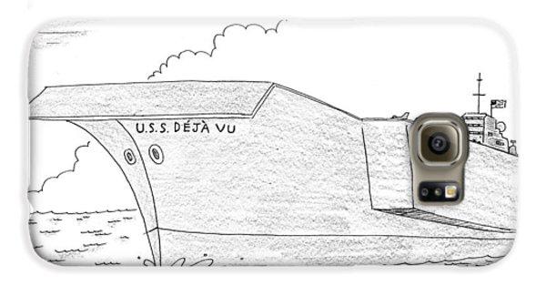 U.s.s. Deja Vu Galaxy S6 Case by Mick Stevens