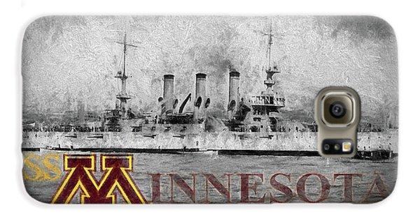 Uss Minnesota Galaxy S6 Case by JC Findley