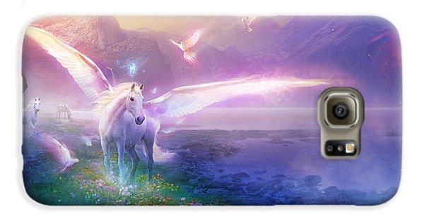 Utherworlds Winter Dawn Galaxy S6 Case by Philip Straub