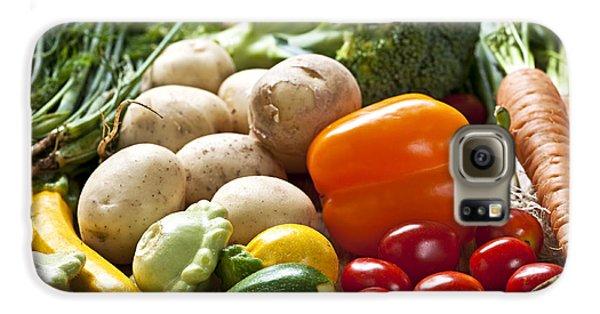 Vegetables Galaxy S6 Case by Elena Elisseeva