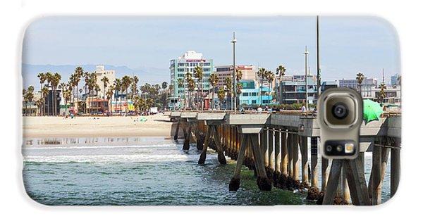 Venice Beach From The Pier Galaxy S6 Case by Ana V Ramirez