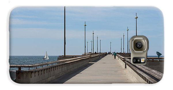 Venice Beach Pier Galaxy S6 Case by Ana V Ramirez
