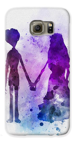 Victor And Emily Galaxy S6 Case by Rebecca Jenkins