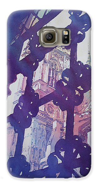 View From The Cloister Galaxy S6 Case by Jenny Armitage