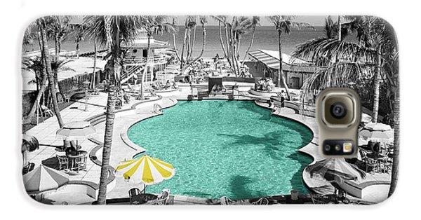 Vintage Miami Galaxy S6 Case by Andrew Fare