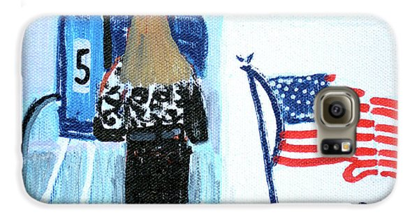 Voting Booth 2008 Galaxy S6 Case by Candace Lovely