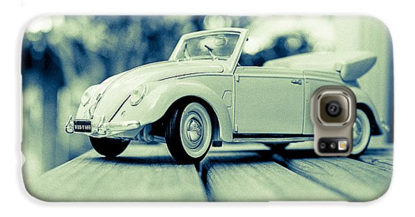 Vw Beetle Convertible Galaxy S6 Case by Jon Woodhams
