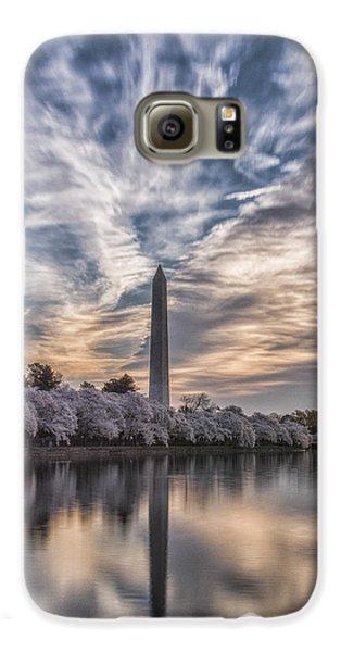 Washington Blossom Sunrise Galaxy S6 Case by Erika Fawcett