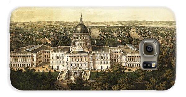 Washington City 1857 Galaxy S6 Case by Jon Neidert