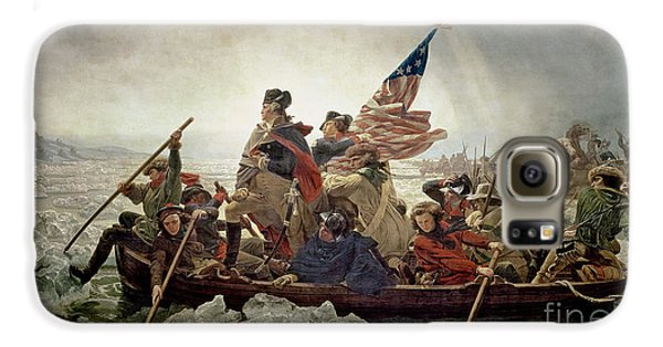 Washington Crossing The Delaware River Galaxy S6 Case by Emanuel Gottlieb Leutze
