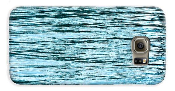 Water Flow Galaxy S6 Case by Steve Gadomski