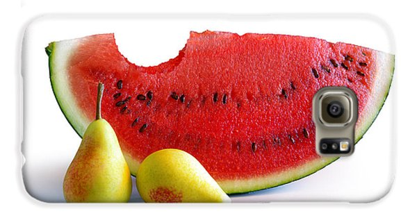 Watermelon And Pears Galaxy S6 Case by Carlos Caetano