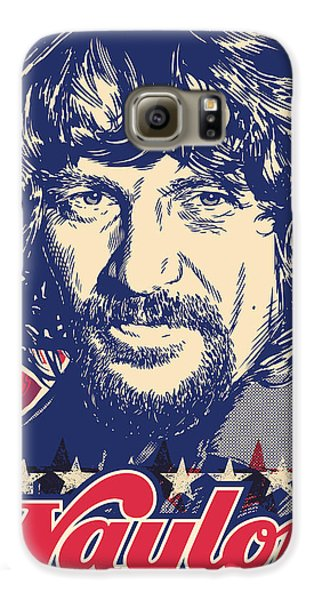 Waylon Jennings Pop Art Galaxy S6 Case by Jim Zahniser