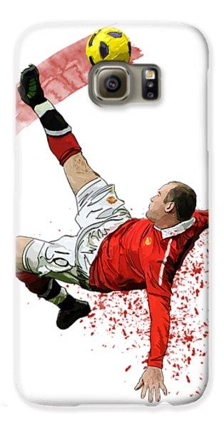 Wayne Rooney Galaxy S6 Case by Armaan Sandhu