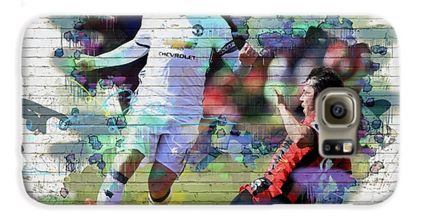 Wayne Rooney Street Art Galaxy S6 Case by Don Kuing