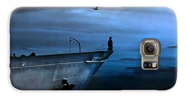West Across The Ocean Galaxy S6 Case by Joachim G Pinkawa