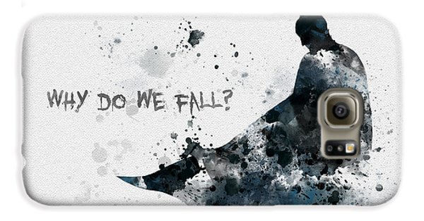 Why Do We Fall? Galaxy S6 Case by Rebecca Jenkins