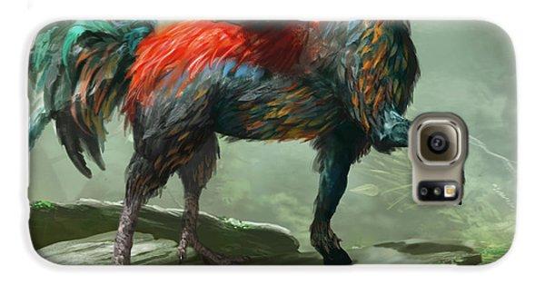 Wild Hippalektryon Galaxy S6 Case by Ryan Barger