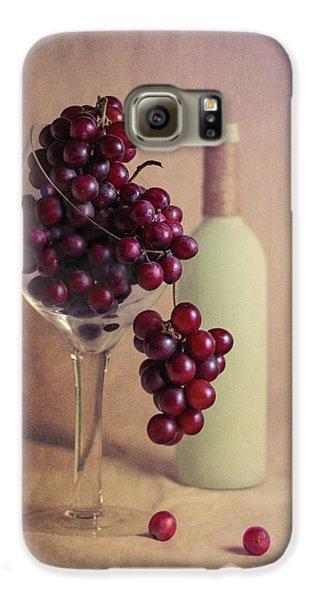 Wine On The Vine Galaxy S6 Case by Tom Mc Nemar