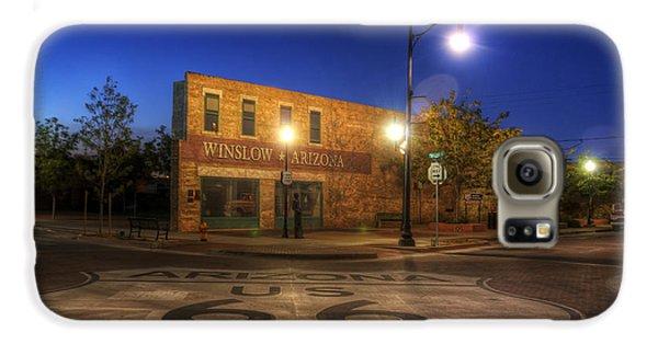 Winslow Corner Galaxy S6 Case by Wayne Stadler