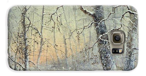 Winter Breakfast Galaxy S6 Case by Joseph Farquharson
