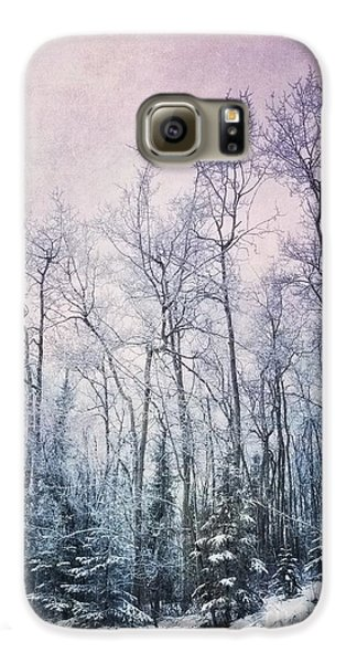 Winter Forest Galaxy S6 Case by Priska Wettstein