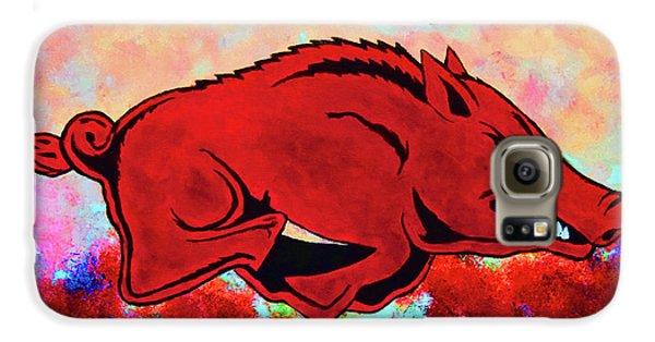 Woo Pig Sooie 3 Galaxy S6 Case by Belinda Nagy