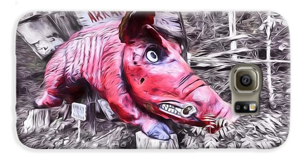 Woo Pig Sooie Digital Galaxy S6 Case by JC Findley