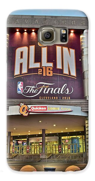 World Champion Cleveland Cavaliers Galaxy S6 Case by Frozen in Time Fine Art Photography