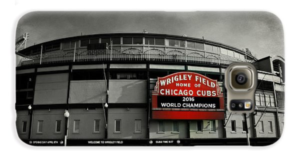 Wrigley Field Galaxy S6 Case by Stephen Stookey