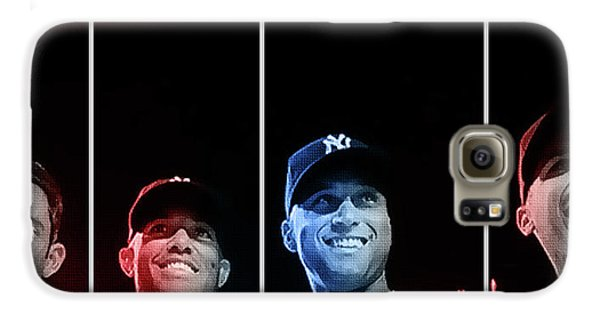 Yankee Core Four By Gbs Galaxy S6 Case by Anibal Diaz