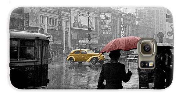 Yellow Cabs New York 2 Galaxy S6 Case by Andrew Fare