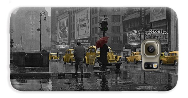 Yellow Cabs New York Galaxy S6 Case by Andrew Fare