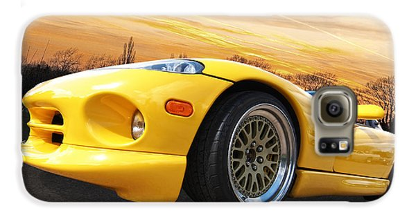 Yellow Viper Rt10 Galaxy S6 Case by Gill Billington