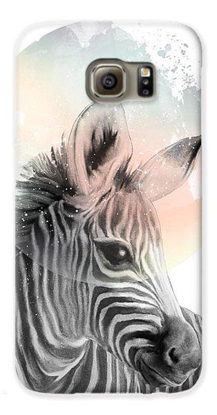 Zebra // Dreaming Galaxy S6 Case by Amy Hamilton