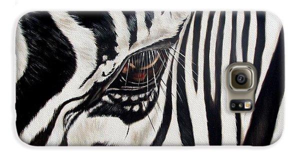 Zebra Eye Galaxy S6 Case by Ilse Kleyn