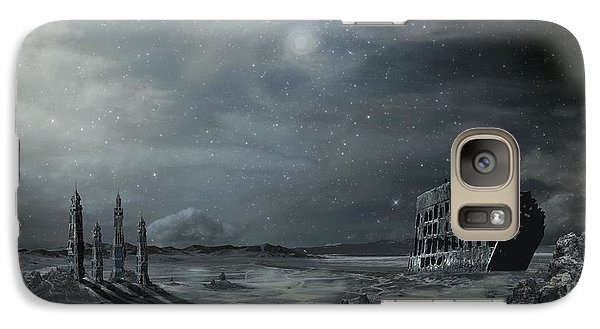 Arrived Galaxy Case by Franziskus Pfleghart