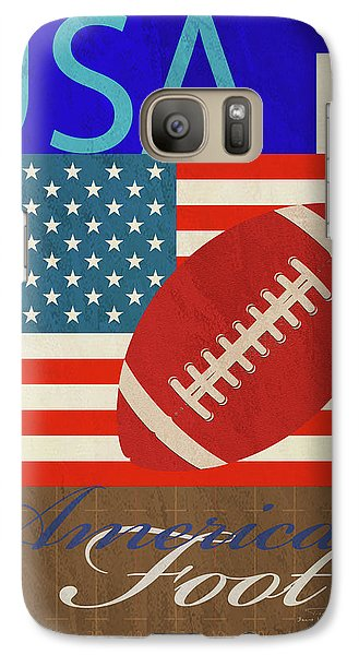 Usa Is American Football Galaxy Case by Joost Hogervorst