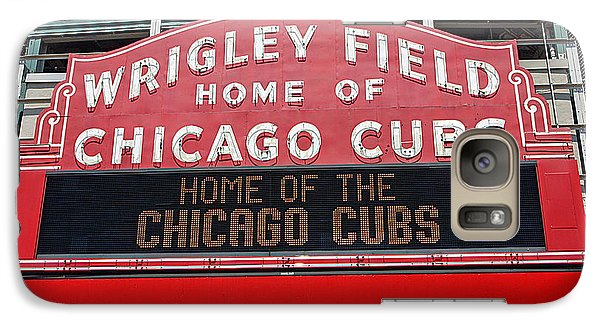 0334 Wrigley Field Galaxy S7 Case by Steve Sturgill