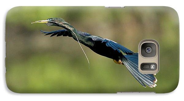 Anhinga Galaxy S7 Case by Anthony Mercieca