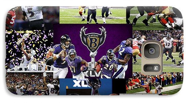 Baltimore Ravens Galaxy S7 Case by Joe Hamilton