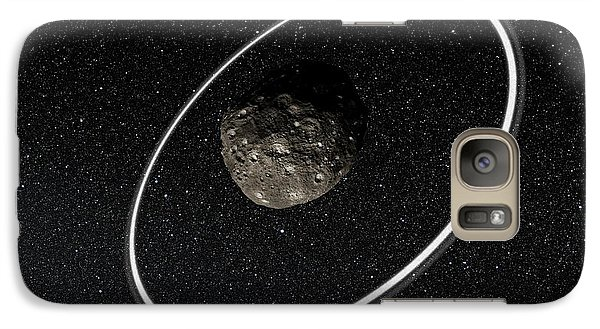 Chariklo Minor Planet And Rings Galaxy Case by European Southern Observatory