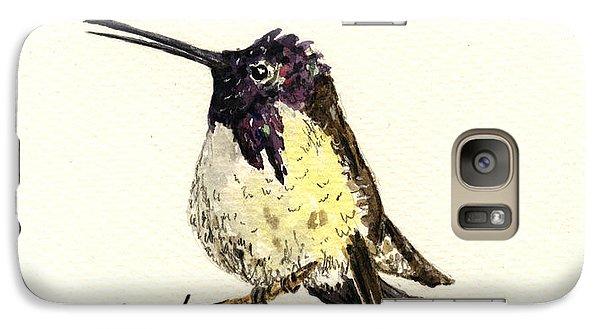 Costa S Hummingbird Galaxy S7 Case by Juan  Bosco