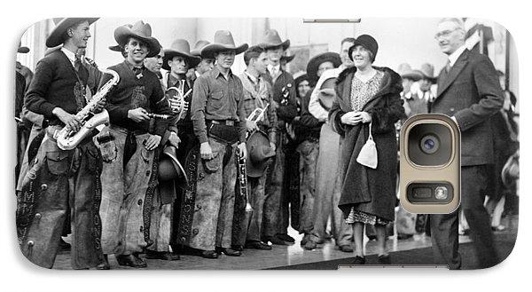 Cowboy Band, 1929 Galaxy Case by Granger