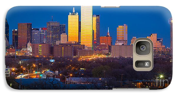 Dallas Skyline Galaxy S7 Case by Inge Johnsson