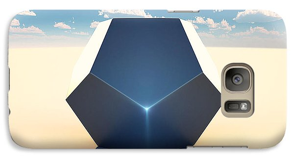 Dodecahedron Galaxy Case by Marc Orphanos