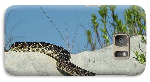 Eastern Diamondback Rattlesnake Galaxy Case by Pete Oxford