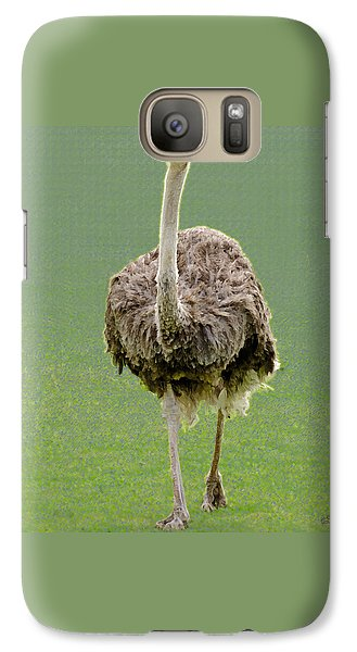Emu Galaxy S7 Case by Ellen Henneke
